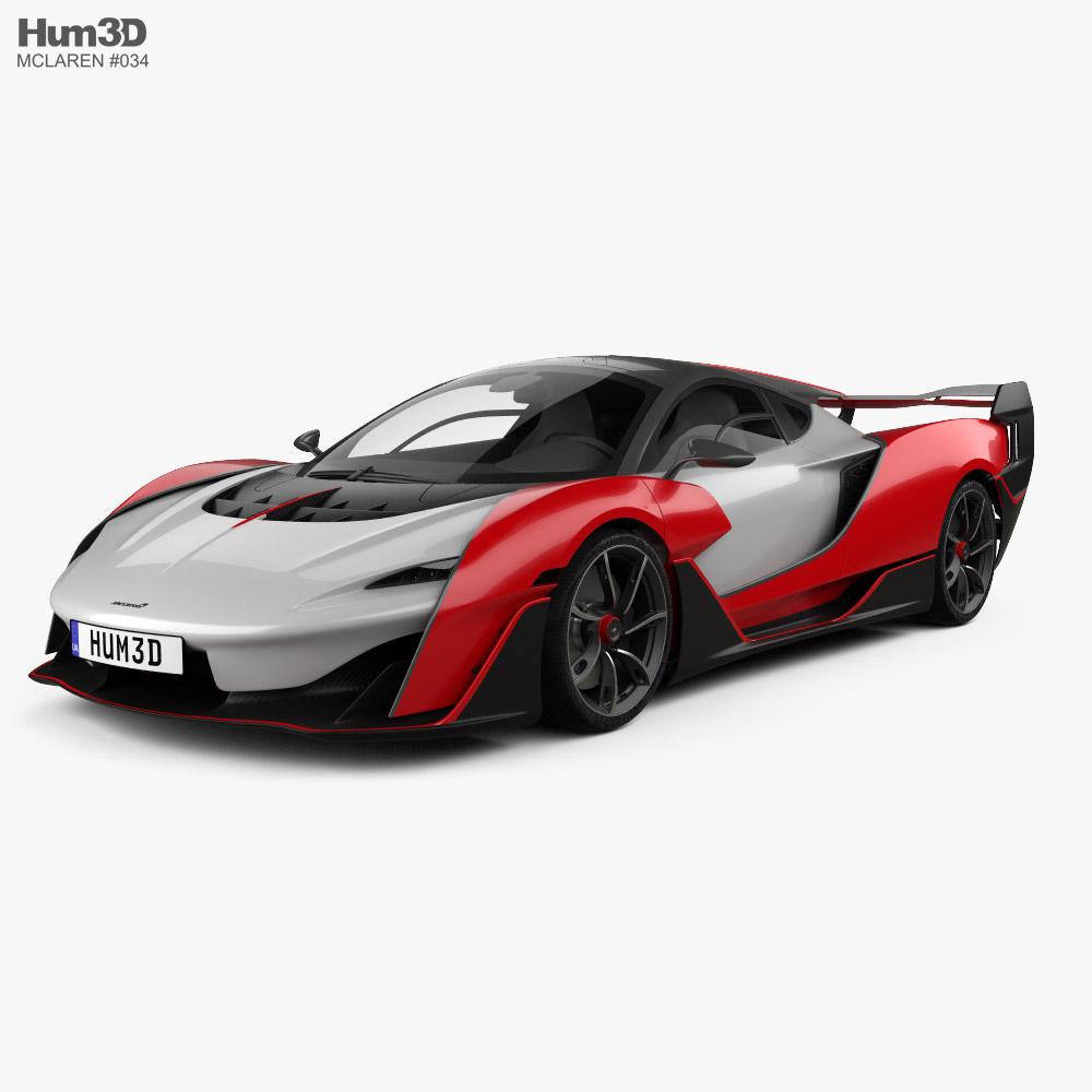 McLaren Sabre 2021 3D model