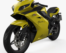 3D model of Megelli Sport 250 R 2013