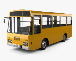 3D model of Menarini C13 Bus 1981
