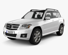 Mercedes-Benz GLK-Class 2010 3D model
