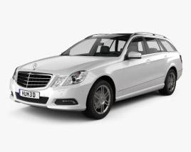 3D model of Mercedes-Benz E-class 2010 Estate 2010