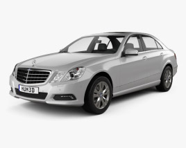 3D model of Mercedes-Benz E-Class 2010