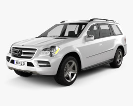 3D model of Mercedes-Benz GL-Class 2010