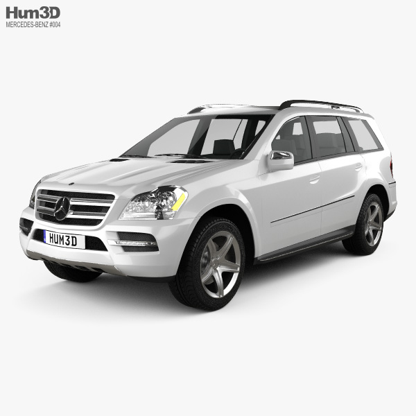 Mercedes-Benz GL-Class 2010 3D model