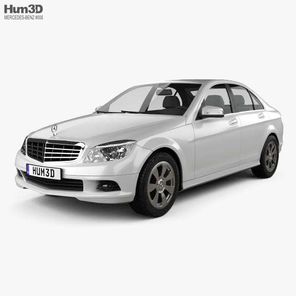 Mercedes-Benz C-class 2007 3D model