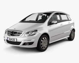 3D model of Mercedes-Benz B-Class 2010