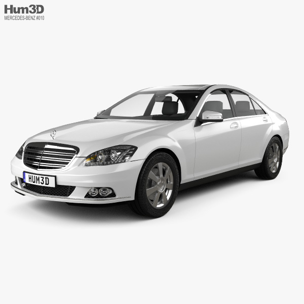3D model of Mercedes-Benz S-Class 2010