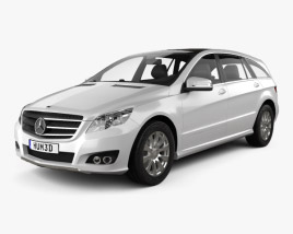 3D model of Mercedes-Benz R-Class 2011