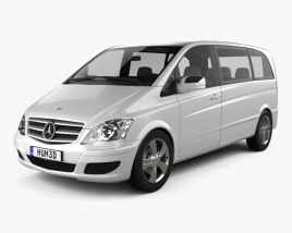 3D model of Mercedes-Benz Viano Compact 2011
