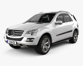 Mercedes-Benz ML class 2011 3D model