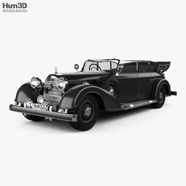 Mercedes-Benz 770K 1936 3D model