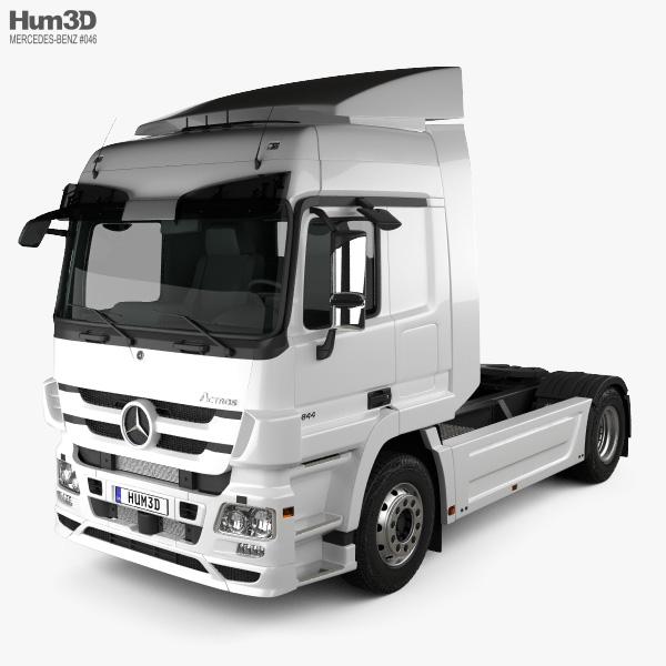 Mercedes-Benz Actros Tractor Truck 2011 3D model