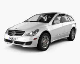 3D model of Mercedes-Benz R-Class (W251) 2006