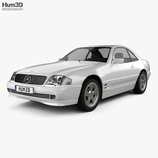 Mercedes-Benz SL-class (R129) 2002 3D model