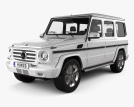 3D model of Mercedes-Benz G-Class 5-door 2013