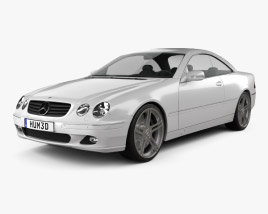 3D model of Mercedes-Benz CL-Class (W215) 2006