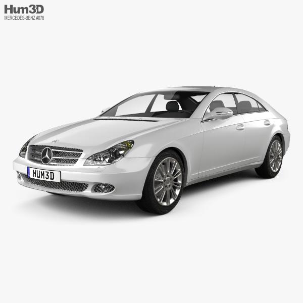 3D model of Mercedes-Benz CLS-Class (C219) 2006