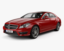 Mercedes-Benz CLS-Class 63 AMG 2012 3D model