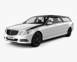 3D model of Mercedes-Benz E-Class Binz Xtend 2012