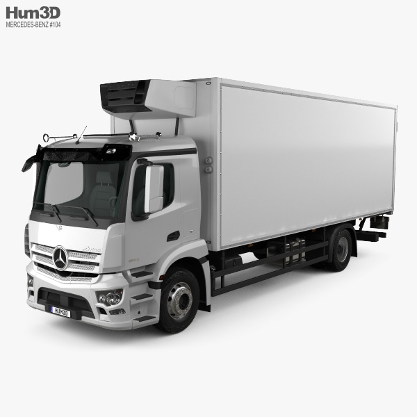 Mercedes-Benz Antos Box Truck 2012 3D model