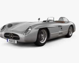3D model of Mercedes-Benz 300 SLR 1955