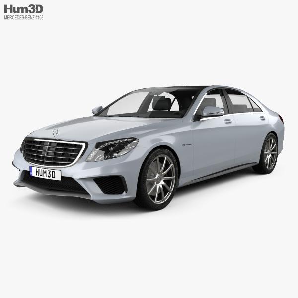 Mercedes-Benz Classe S 63 AMG (W222) 2014 Modello 3D
