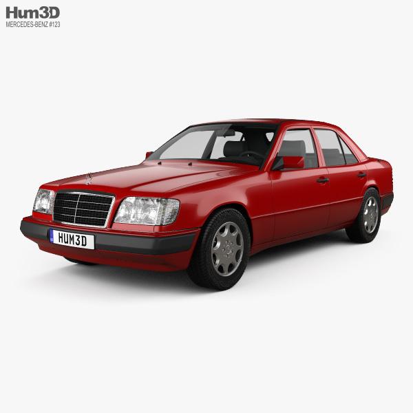 Mercedes-Benz E-class sedan 1993 3D model
