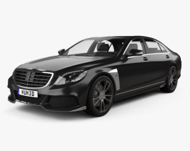Mercedes-Benz S-Class (W222) Brabus 2014 3D model