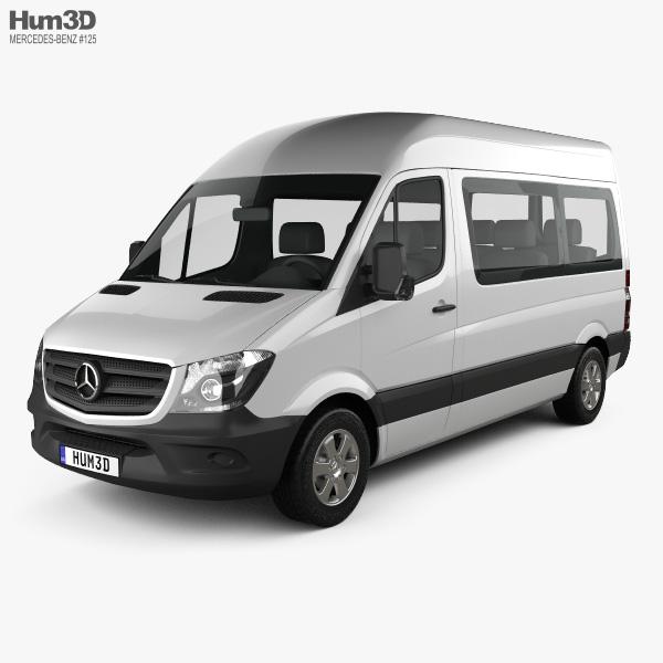 Mercedes-Benz Sprinter Passenger Van 2013 3D model