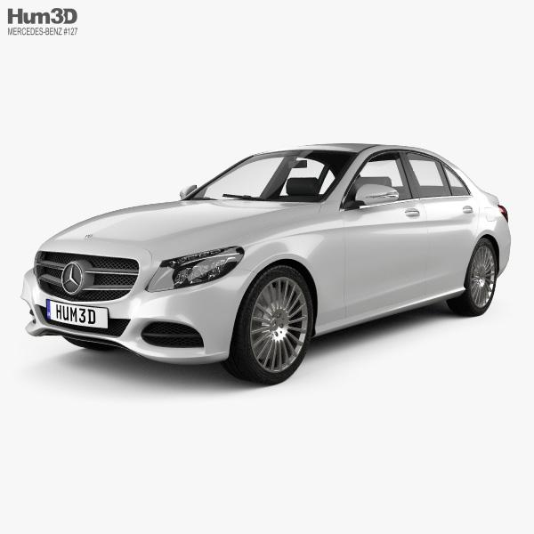 Mercedes-Benz C-class (W205) sedan 2014 3D model