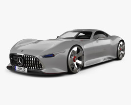3D model of Mercedes-Benz AMG Vision Gran Turismo 2013