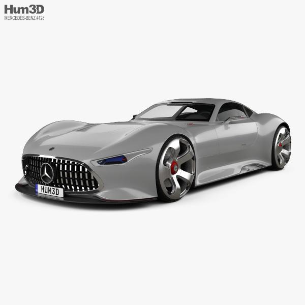 Mercedes-Benz AMG Vision Gran Turismo 2013 3D-Modell