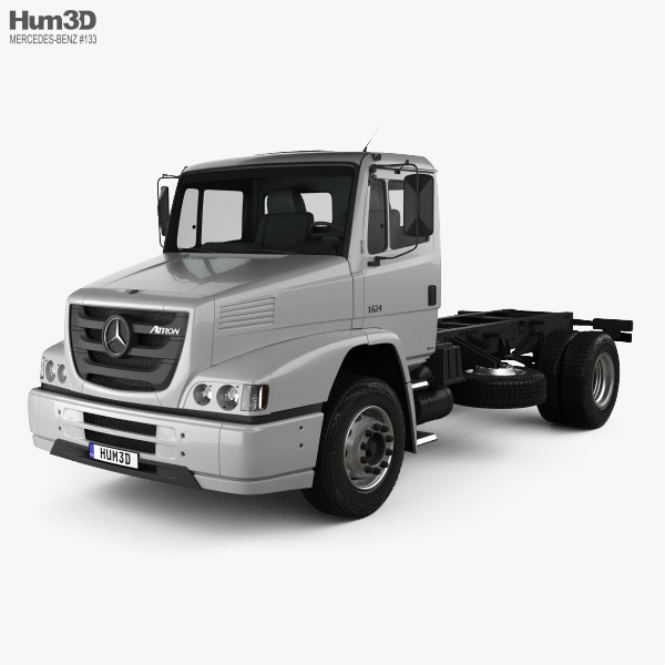 Mercedes-Benz Atron Chassis Truck 2011 3D model