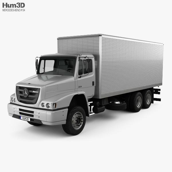 Mercedes-Benz Atron Box Truck 2011 3D model