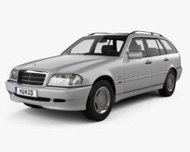 Mercedes-Benz C-Class (S202) estate 1997 3D model