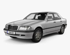 Mercedes-Benz C-Class (W202) sedan 1997 3D model