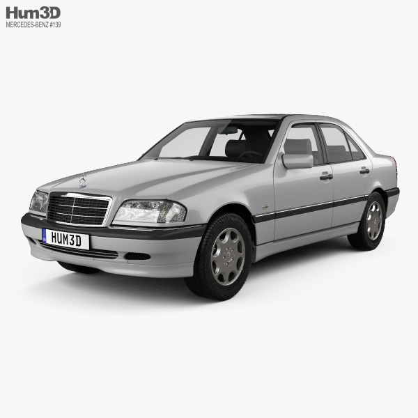 Mercedes-Benz C-Class (W202) sedan 1997 3D model