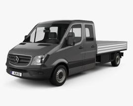 Mercedes-Benz Sprinter Drop Side Double Cab 2013 3D model