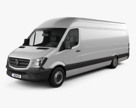 Mercedes-Benz Sprinter Panel Van ELWB HR 2013 3D model