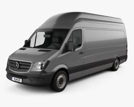 Mercedes-Benz Sprinter Panel Van LWB SHR 2013 3D model