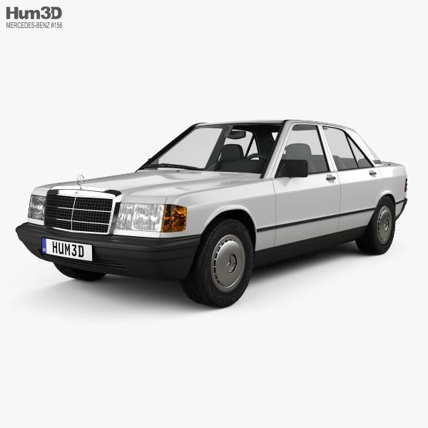 Mercedes-Benz 190 (W201) 1982 3D model
