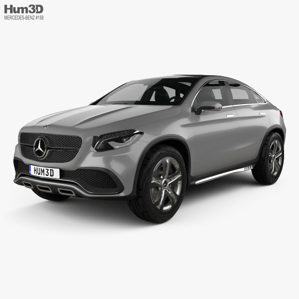 Mercedes-Benz Coupe SUV 2014 3D model