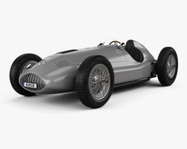 3D model of Mercedes-Benz W165 1939