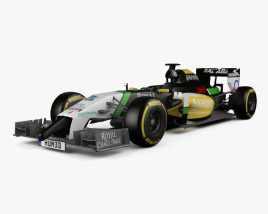 3D model of Force India 2014