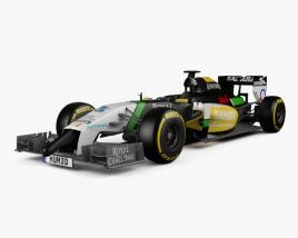 Force India 2014 3D model