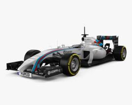Williams FW36 2014 3D model