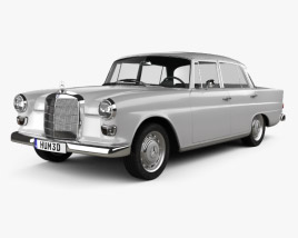 3D model of Mercedes-Benz W110 1966