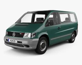 Mercedes-Benz Vito (W638) Passenger Van 1996 3D model
