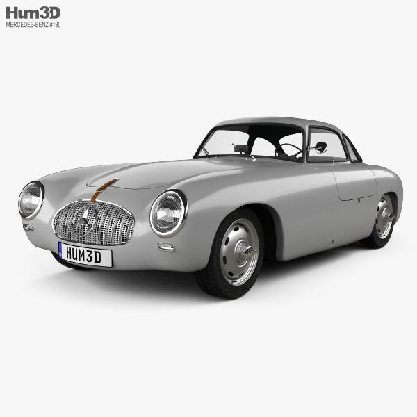 Mercedes-Benz SL-Class (W194) 1952 3D model