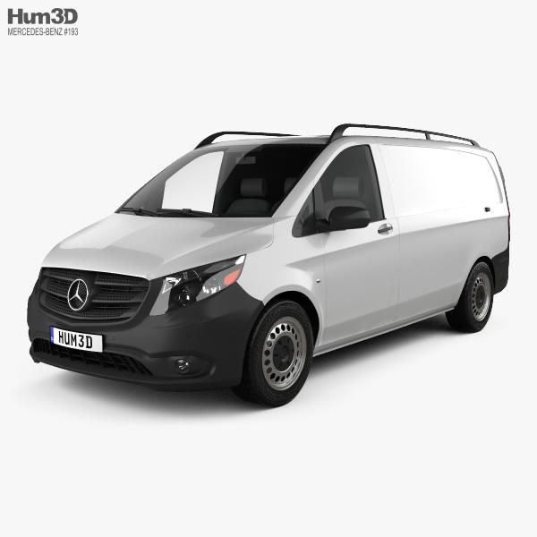 3D model of Mercedes-Benz Metris Panel Van 2014